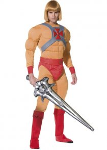 Adult Size 80's Prince Adam He-Man Costume