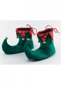 Adult Deluxe Christmas Elf Shoes
