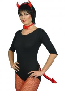 Red Sexy Devil Fancy Dress Accessory Set