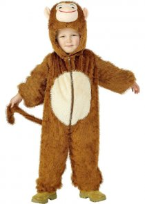Childs Size Monkey Fancy Dress Costume