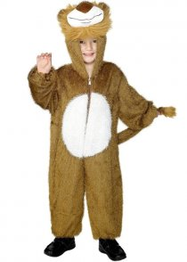 Childs Size Lion Fancy Dress Costume