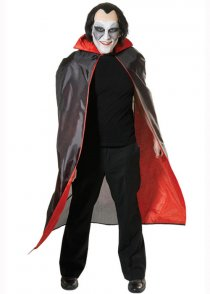 Adult Size Vampire Fabric Dracula Cape