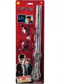 Harry Potter Glasses and Wand Kit