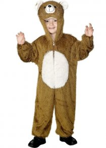 Childs Size Brown Teddy Bear Costume