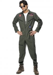Adult Mens Top Gun Fighter Pilot Costume