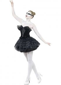 Womens Black Swan Ballerina Costume