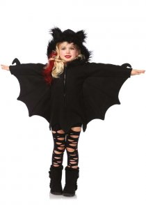Kids Halloween Cute Cozy Bat Costume