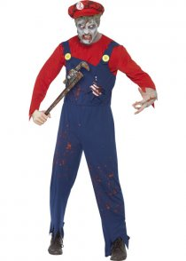 Male Zombie Plumber Costume