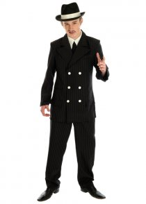 Adult Mens 1920's Al Capone Gangster Costume