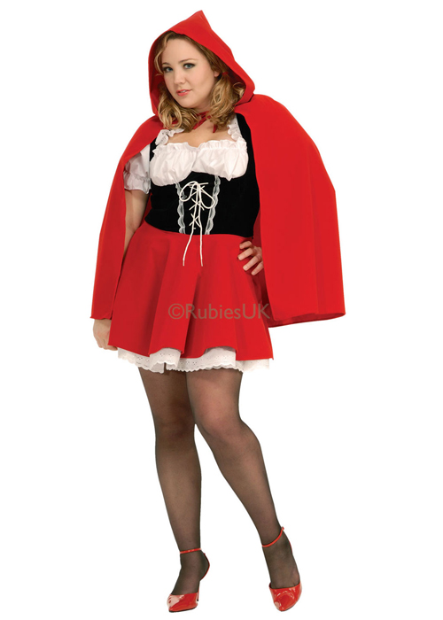 Womens Plus Size Red Riding Hood Costume 17435 2695 Cheap