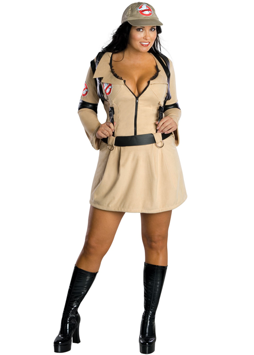 Womens Plus Size Ghostbusters Costume Ladies Plus Size Sexy