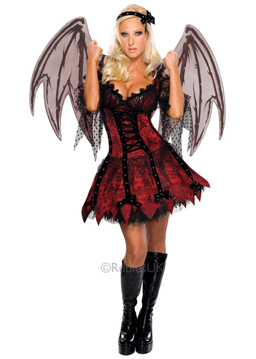 Sexy Halloween Gothic V&ire Fairy Costume  sc 1 st  Cheap Fancy Dress : gothic womens costumes  - Germanpascual.Com