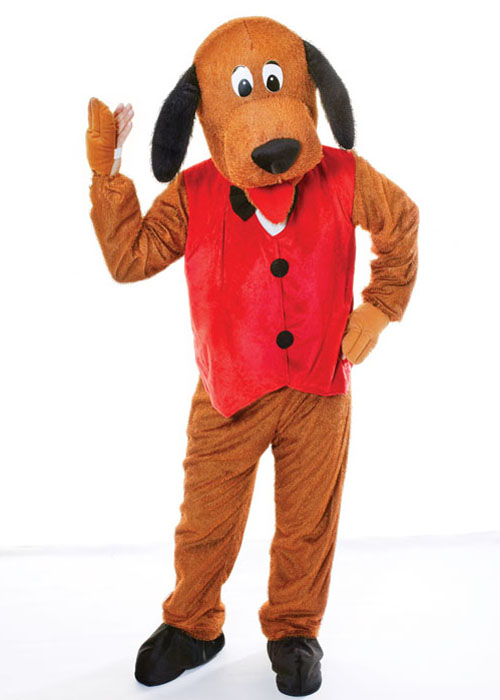 Adult Size Big Head Deluxe Dog Costume Ac269 39 49 Cheap
