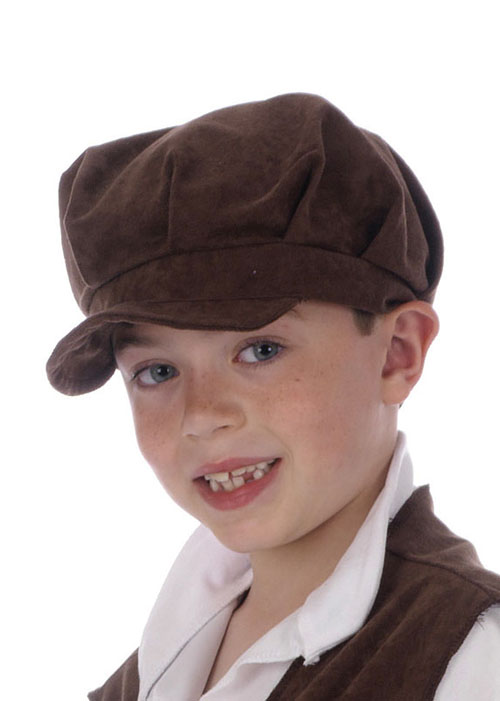 Childs Size Medieval Boy Brown Urchin Hat  BH497  - £4.95 - Cheap Fancy  Dress Outfits 5814b2e6e58