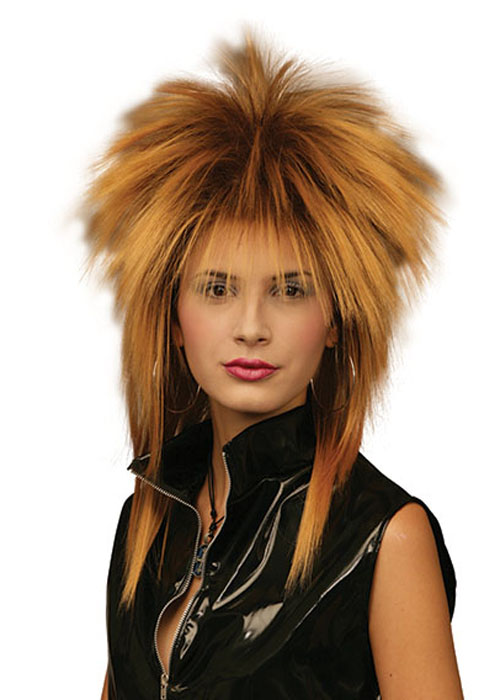 80 s Tina Turner Style Gold Rock Star Wig  BW187-TT  - £15.49 - Cheap Fancy  Dress Outfits eef4f335caa0