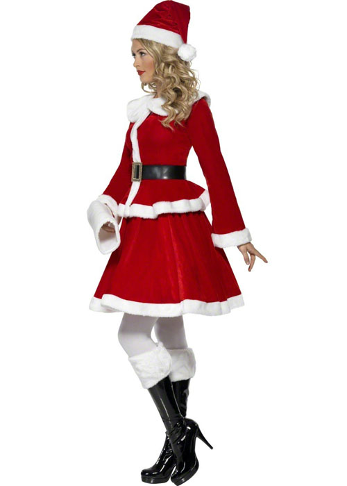 06b57967b7919 Ladies Mrs Christmas Miss Santa Costume ladies mrs christmas miss ...
