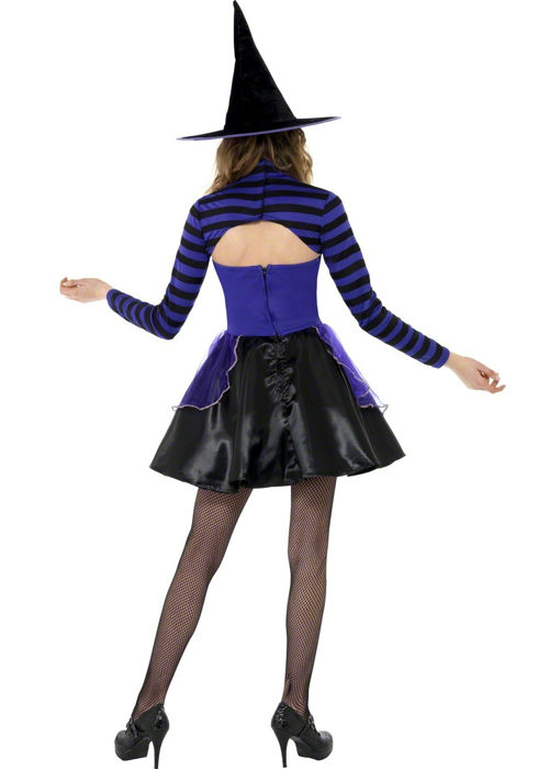 Teen Size Purple Witch Dark Fairy Costume