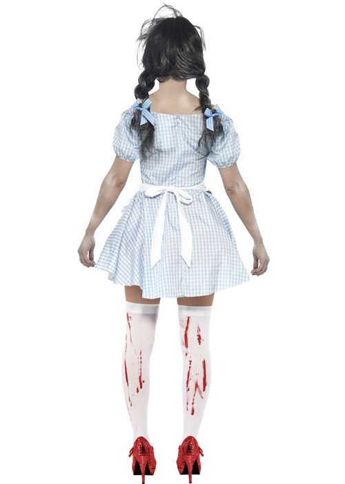 95a5b32187ceb Womens Zombie Countrygirl Costume  21579-DISC  - £29.49 - Cheap Fancy Dress  Outfits